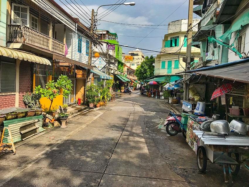 Small street in Bangkok