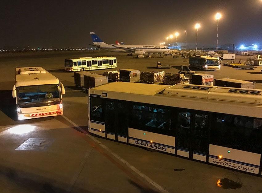 Kuwait Airport Bus