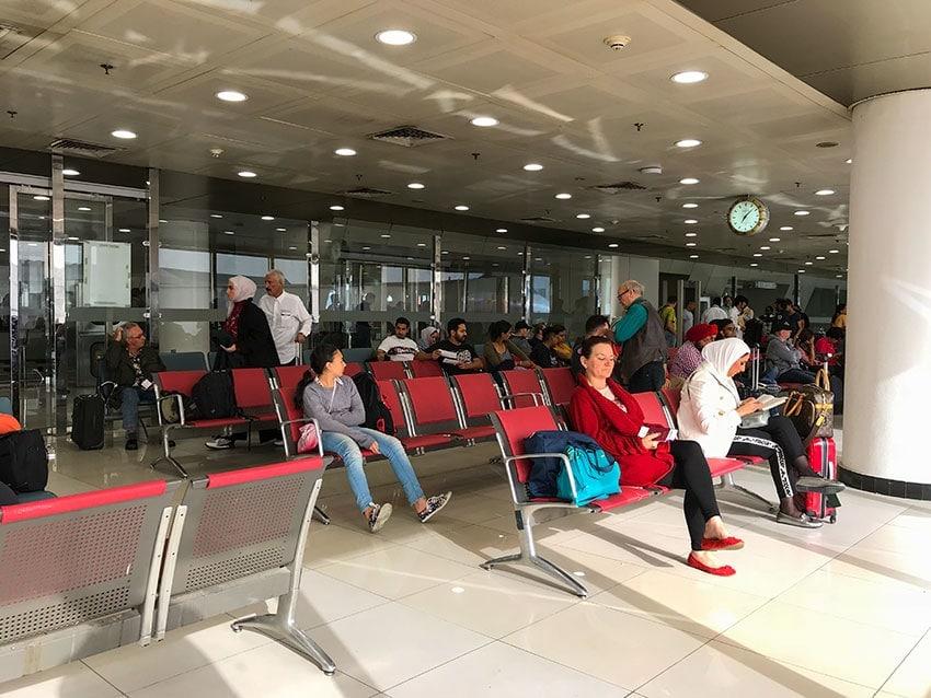 Waitingroom at Kuwait Airport