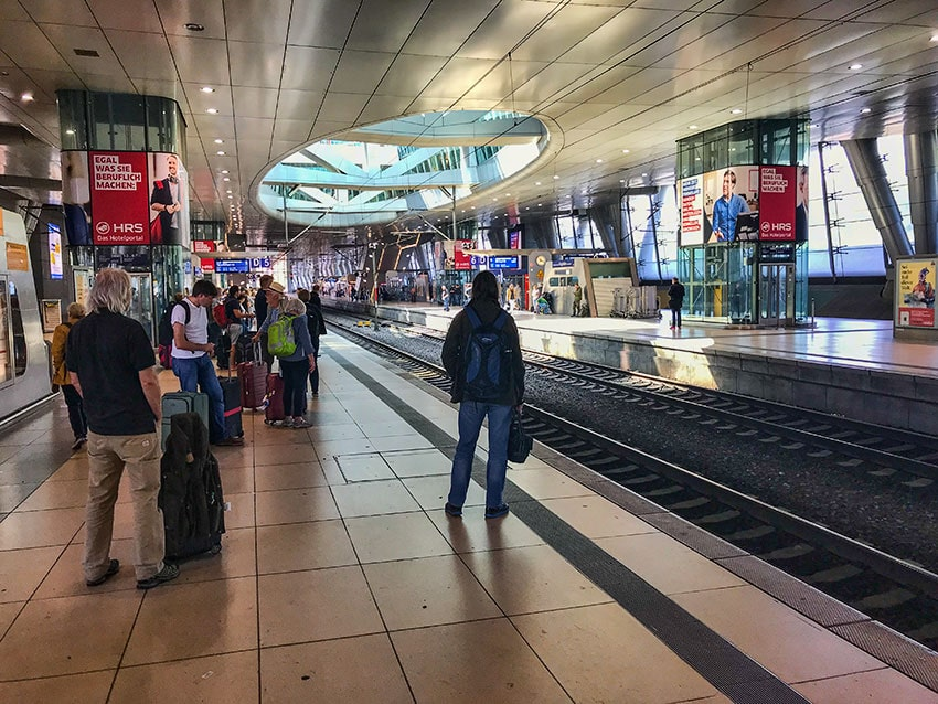 FRA Airport Train Station