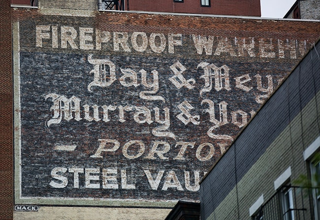 Fireproof Warehouse - Day & Meyer, Murray & Young Corp - Portovault - Steel Vault Storage - Second Avenue & East 61st Street