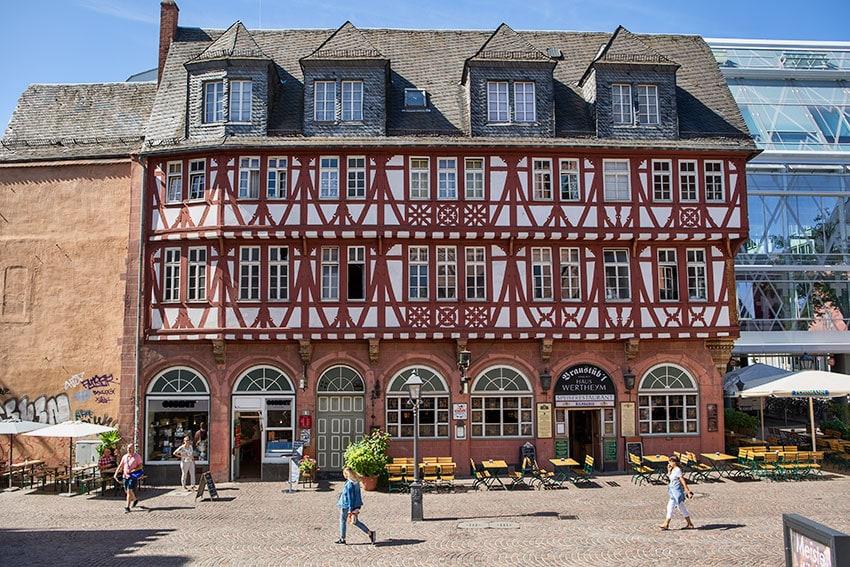 Haus Wertheym - first construction started in 1479