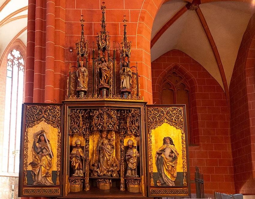 Inside the Frankfurt Cathedral