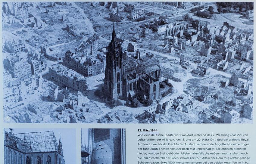 Frankfurt Cathedral after the War