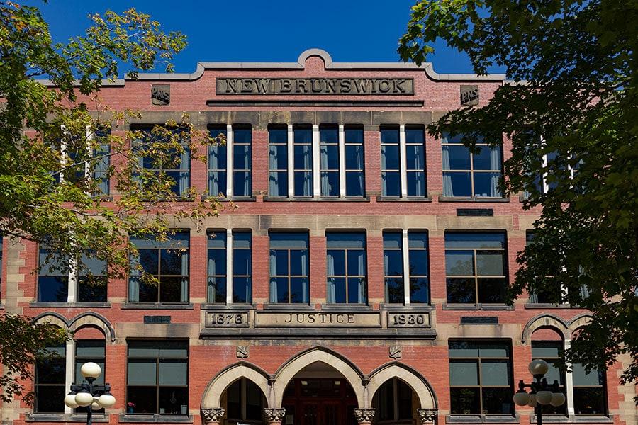 Fredericton Courthouse