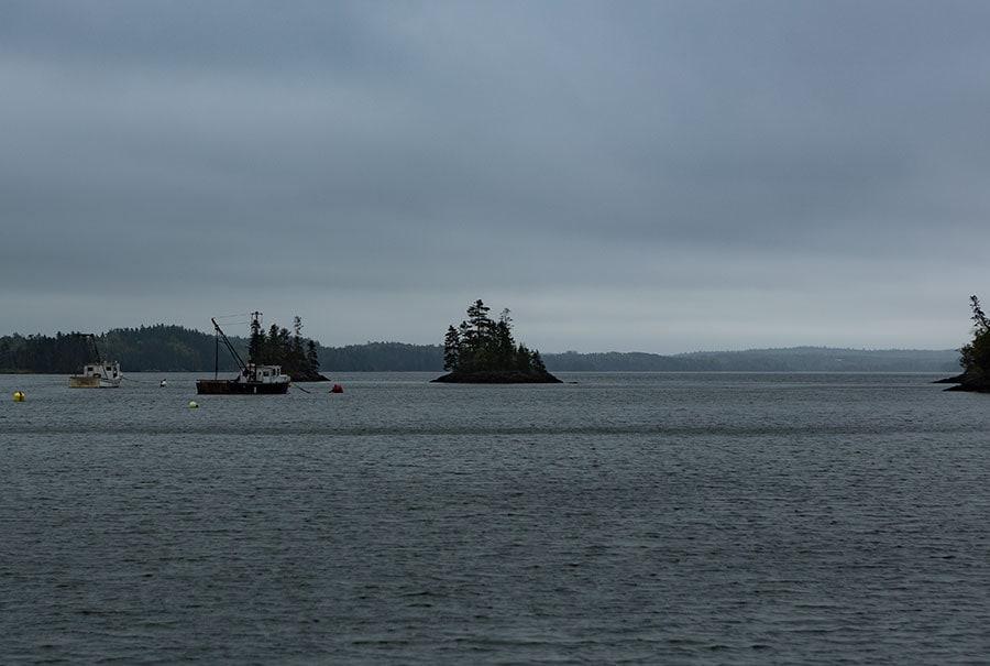 Bay close to Pembroke