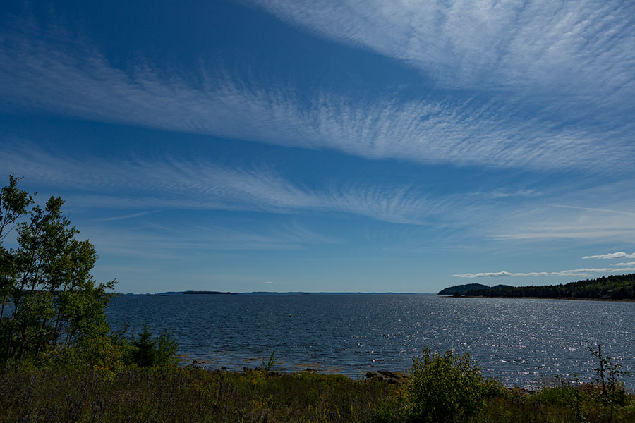 View of Saint Patricks Bay