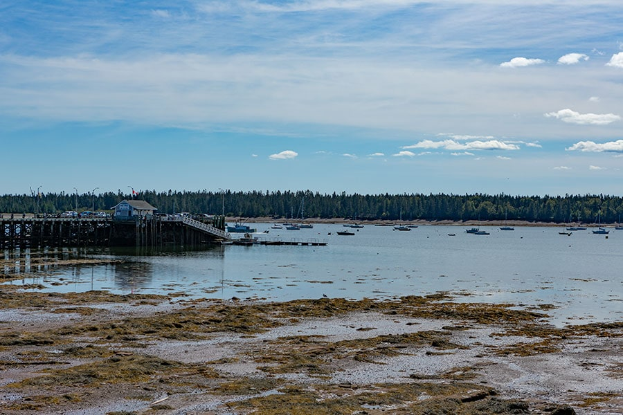 Pier in Saint Andrews, New Brunswick, Canada