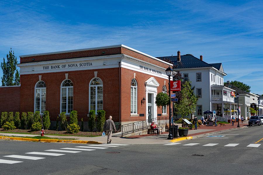 The Bank of Novia Scotia in Saint Andrews