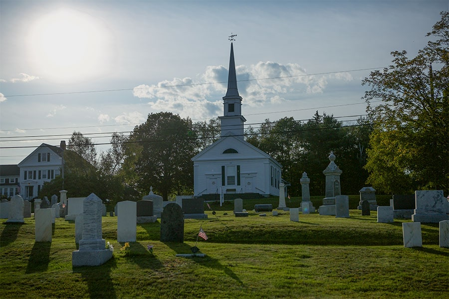 Church in Stockton Springs, Maine