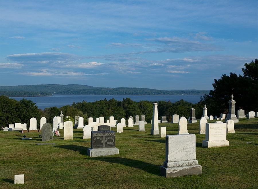 Graveyard in Stockton Springs, Maine