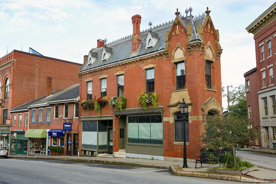 Corner of Main St and Beaver St