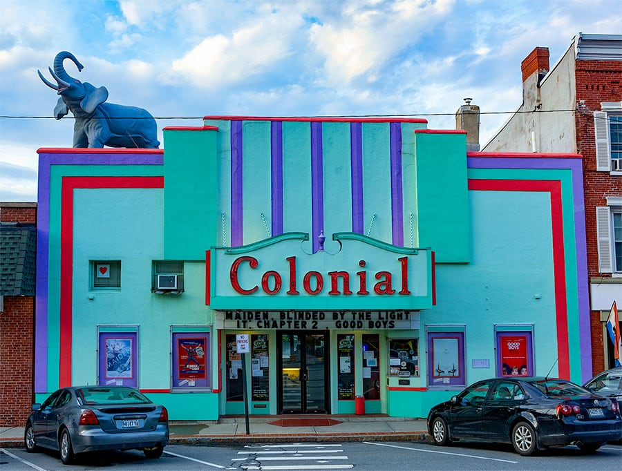 The Colonial Cinema