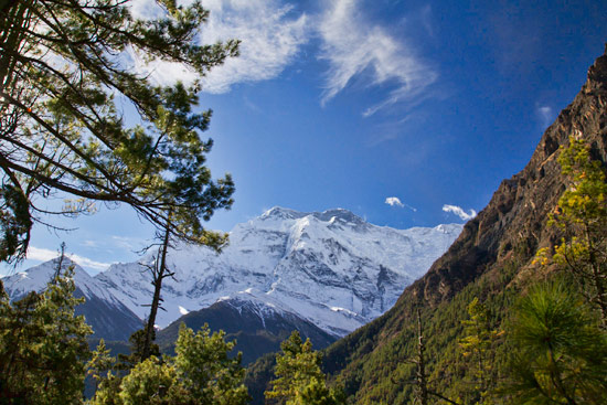 From Upper Pisang to Ghyaru on the Annapurna Trek