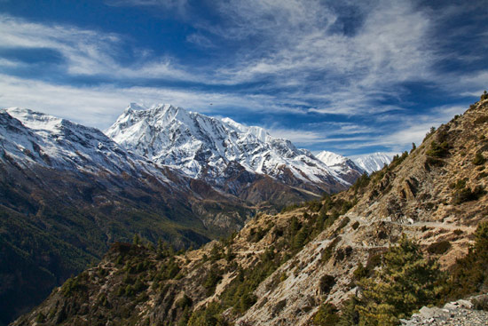 From Upper Pisang to Ghyaru on the Annapurna Trek II
