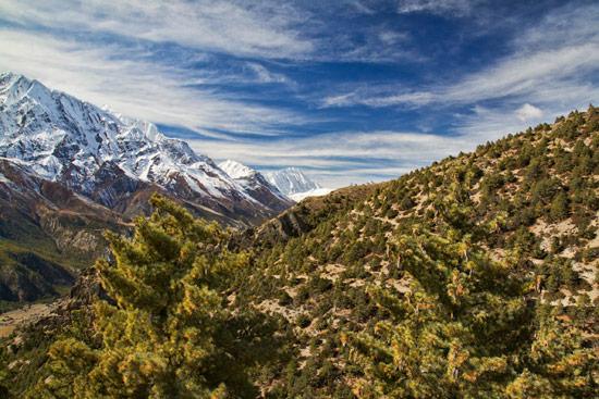 From Upper Pisang to Ghyaru on the Annapurna Trek II