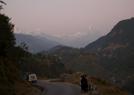 Annapurna Treck - over the pass