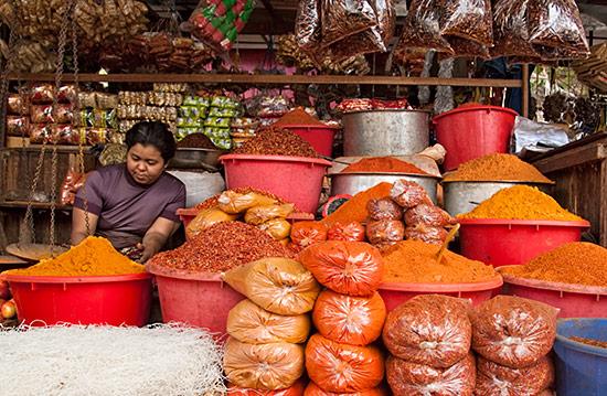 Colors in Mandalay