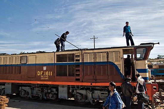 Train to Kalaw