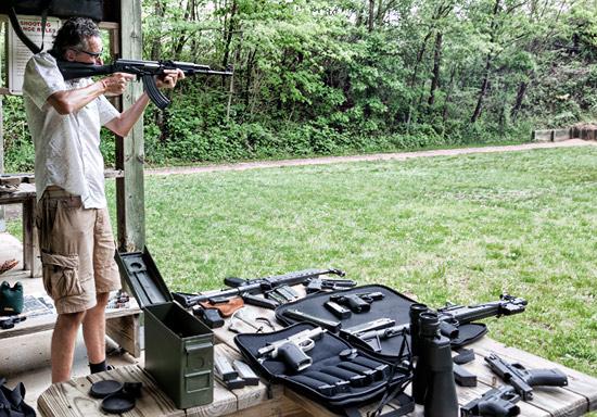 A morning at the Shooting Range