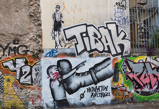 Graffiti in Athens