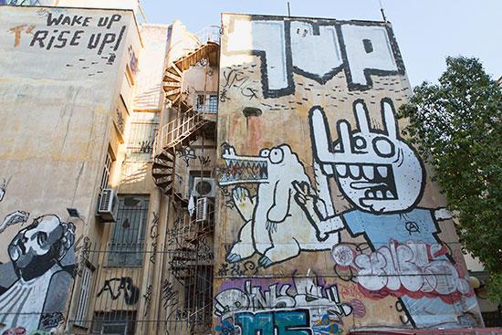 Graffiti in Athens