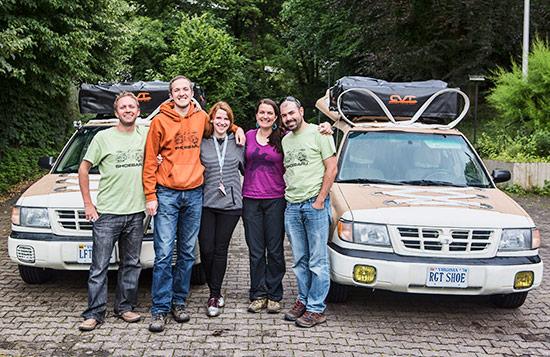 Team Shoebaru in Stuttgart