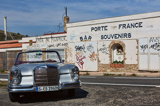 On the Way to Spain - Cruising in France