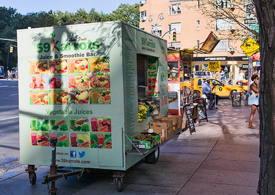 Food Trucks in New York City