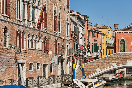 Pictures of Houses in Venice, Italy 2013
