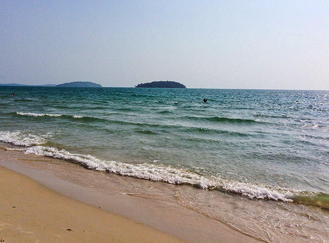 A few Pictures from Otres Beach in Sihanoukville