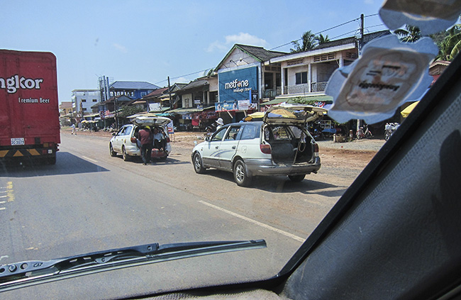On the Road in Cambodia