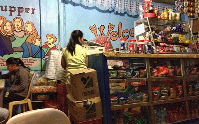 Lyn's eatery in Banaue